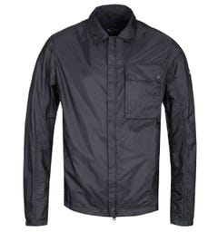 Paul & Shark Black Lightweight Overshirt