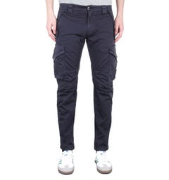 CP Company Ergonomic Fit Navy Cargo Pants