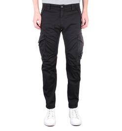CP Company Ergonomic Fit Black Lens Cargo Pants