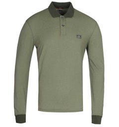 CP Company Military Green Tacting Polo Shirt