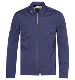 Pretty Green Metal Navy Overshirt