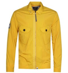 Pretty Green Metal Yellow Overshirt