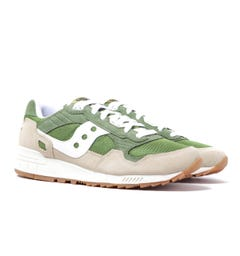 Saucony Shadow 5000 Emerald Green Suede Trainers