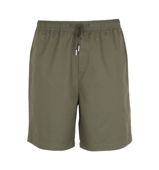 Fred Perry Drawstring Twill Green Short