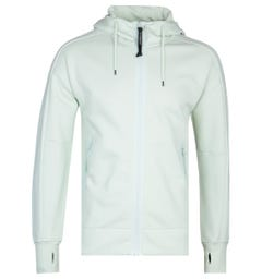 CP Company Zip-Through Frost Goggle Hoodie