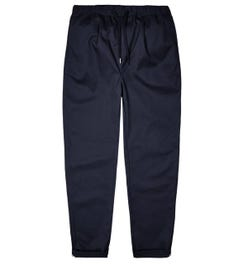 Fred Perry Drawstring Twill Navy Trouser
