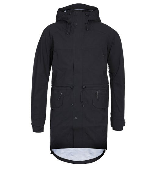 7L 413 Rain Layer Black Waterproof Jacket