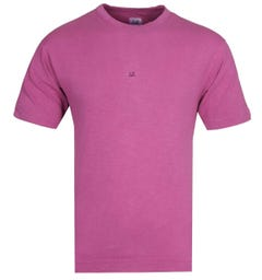 CP Company Small Logo Pink T-Shirt