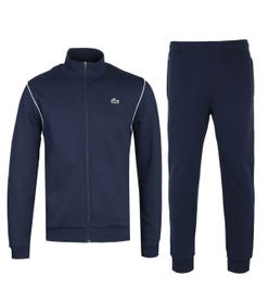 Lacoste Funnel Neck Navy Tracksuit