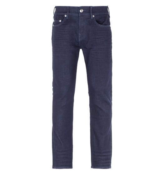 True Religion Rocco Relaxed Skinny Inglorious Dark Blue Jeans