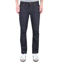 Nudie Jeans Co Grim Tim Slim Fit Jeans - True Navy