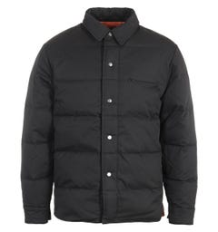 Uniform Bridge Down Shirt Jacket - Black
