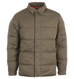 Uniform Bridge Down Shirt Jacket - Sage Green