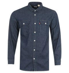 Levi's Jackson Sustainable Worker Shirt - Dark Indigo