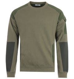 Maharishi Riverine 2.0 Tech Organic Cotton Sweatshirt - Olive