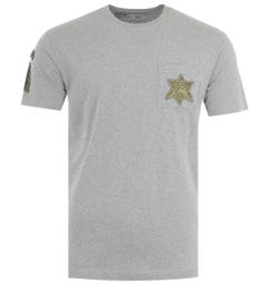 Maharishi Star Patch Organic Cotton T-Shirt - Grey
