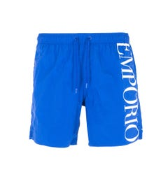 Emporio Armani Sustainable Blue Swim Shorts