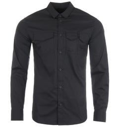 Armani Exchange Sustainable Pocket Shirt - Black