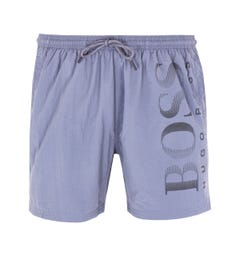 BOSS Bodywear Octopus Tonal Grey Swim Shorts