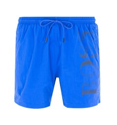 BOSS Bodywear Octopus Tonal Blue Swim Shorts