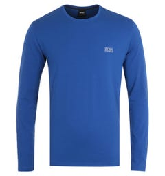 BOSS Bodywear Mix & Match Long Sleeve Cobalt Blue T-Shirt