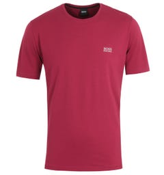 BOSS Bodywear Sustainable Mix & Match T-Shirt - Wine Red