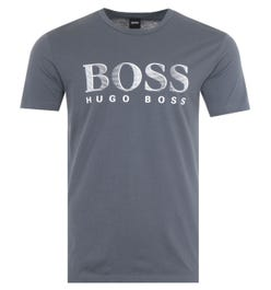 BOSS Bodywear Sustainable UV-Protection T-Shirt - Charcoal
