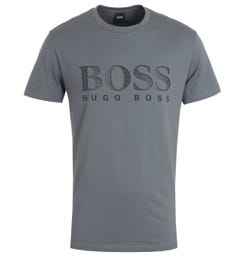 BOSS Bodywear RN UV-Protection Sustainable Grey T-Shirt