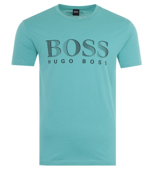BOSS Bodywear Sustainable UV-Protection T-Shirt - Teal