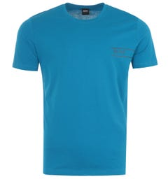 BOSS Bodywear Sustainable Crew Neck T-Shirt - Blue