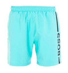 BOSS Bodywear Dolphin Sustainable Seafoam Swim Shorts
