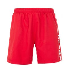 BOSS Bodywear Dolphin Sustainable Swim Shorts - Red