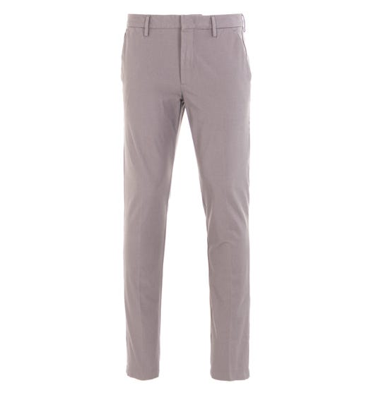 BOSS Kaito Travel Slim Fit Grey Trousers