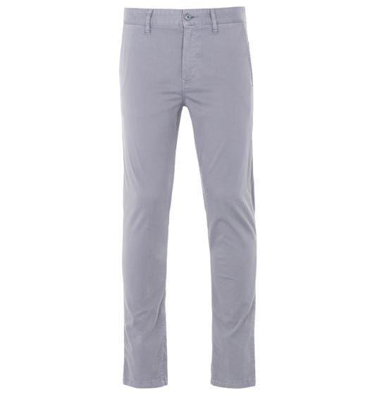 BOSS Schino Taber Tapered Fit Chinos - Grey