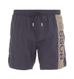 BOSS Bodywear Icefish Black Swim Shorts
