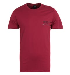 BOSS Bodywear RN 24 Sustainable Red T-Shirt