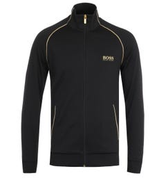 BOSS Bodywear Matching Black Zip Sweatshirt