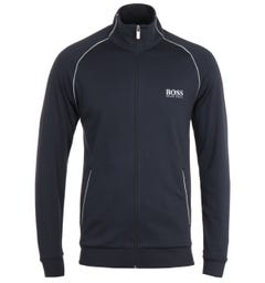 BOSS Bodywear Matching Navy Zip Sweatshirt
