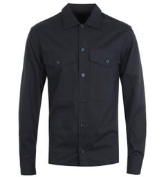BOSS Narsete Relaxed Fit Dark Navy Overshirt