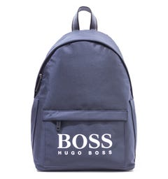 BOSS Magnif Logo Navy Backpack
