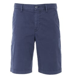 BOSS Tapered Fit Chino Shorts - Navy