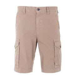 BOSS Relaxed Fit Cargo Shorts - Light Brown