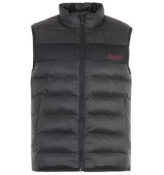 HUGO Baltino Sustainable Padded Gilet - Black