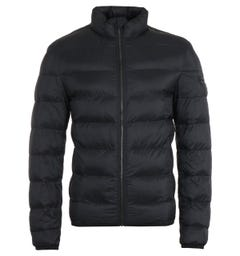 HUGO Baltino Water Repellent Sustainable Black Padded Jacket