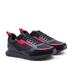 HUGO Icelin Nylon Runner Trainers - Black