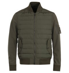 Belstaff Mantle Scout Green Bomber Jacket