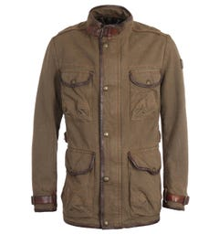Belstaff Journey Mountain Brown Field Jacket