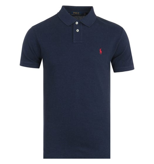 Polo Ralph Lauren Classic Slim Fit Polo Shirt - Navy