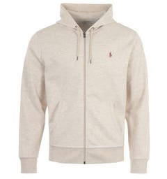Polo Ralph Lauren Performance Hooded Sweatshirt - Dune Tan