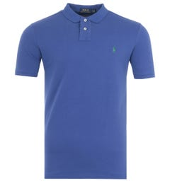 Polo Ralph Lauren Custom Slim Fit Polo Shirt - Bright Navy